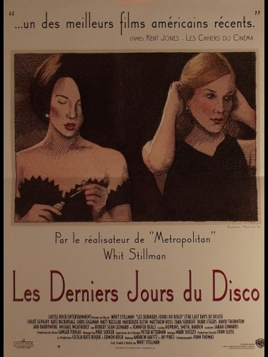 Affiche du film DERNIERS JOURS DU DISCO (LES) - THE LAST DAYS OF DISCO