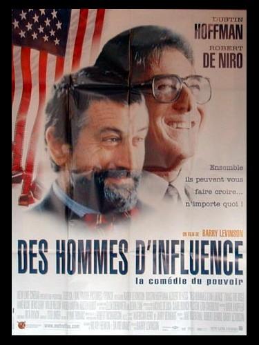 Affiche du film DES HOMMES D'INFLUENCE