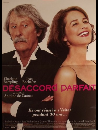 Affiche du film DESACCORD PARFAIT - TWICE UPON A TIME