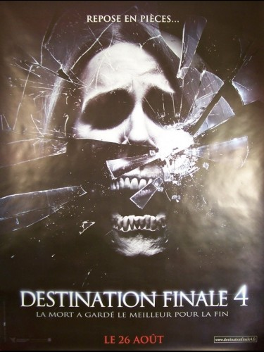 Affiche du film DESTINATION FINALE 4