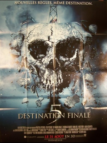Affiche du film DESTINATION FINALE 5 - FINAL DESTINATION 5