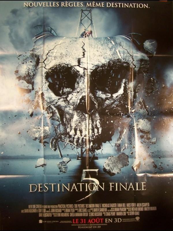 Affiche du film DESTINATION FINALE 5 - FINAL DESTINATION 5