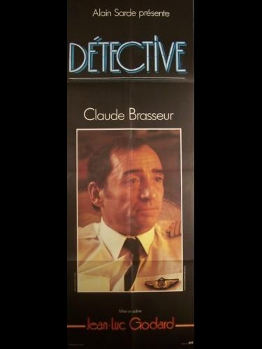 Affiche du film DETECTIVE-CLAUDE BRASSEUR-