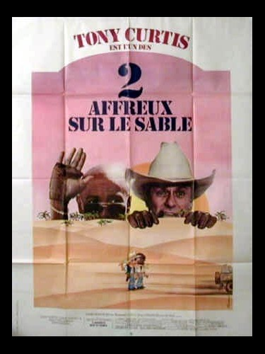 Affiche du film DEUX AFFREUX SUR LE SABLE - IT RAINED ALL NIGHT THE DAY I LEFT
