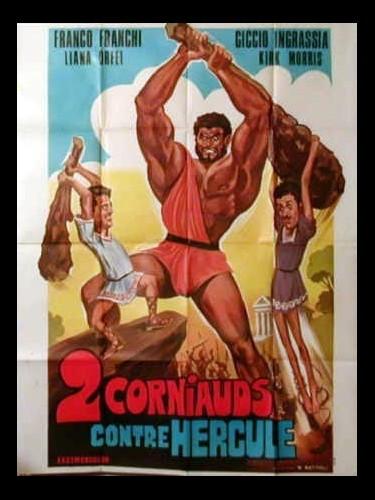 Affiche du film DEUX CORNIAUDS CONTRE HERCULE - MACISTE CONTRO ERCOLE NELLA VALLE DEI GUAI