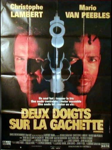 Affiche du film DEUX DOIGTS SUR LA GACHETTE