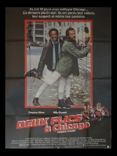 Affiche du film DEUX FLICS A CHICAGO