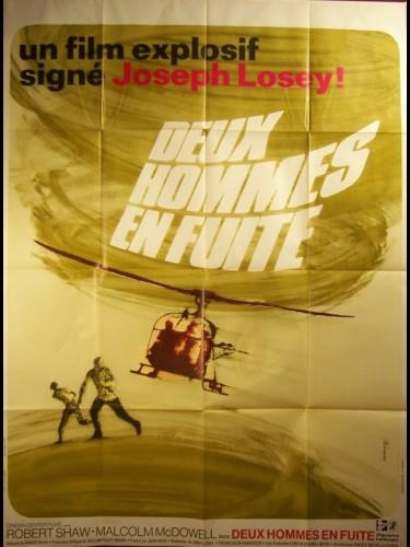 Affiche du film DEUX HOMMES EN FUITE - FIGURES IN A LANDSCAPE