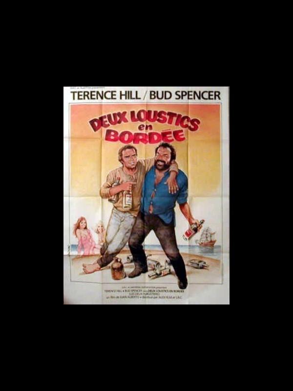 Affiche du film DEUX LOUSTICS EN BORDEE - IL CORSARO NERO