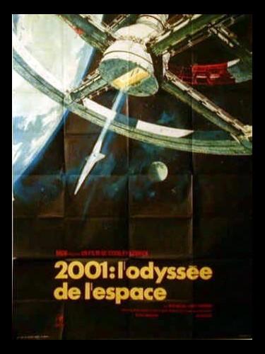 Affiche du film DEUX MILLES UN : L'ODYSSEE DE L'ESPACE