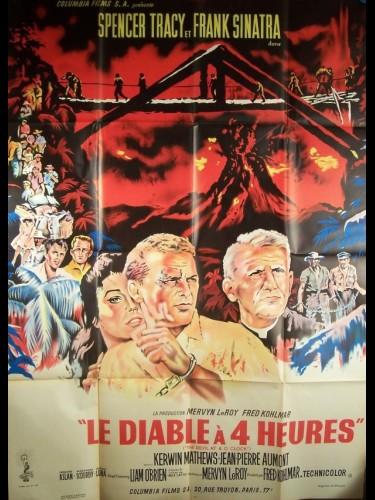 Affiche du film DIABLE A QUATRES HEURES (LE)