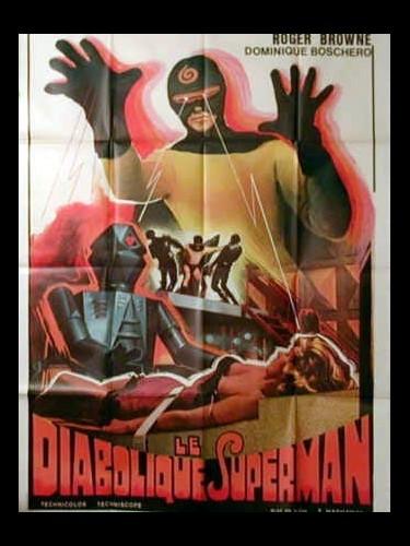Affiche du film DIABOLIQUE SUPERMAN (LE) - TITRE ORIGINAL : COME RUBARE LA CORONA D'INGHILTERRA