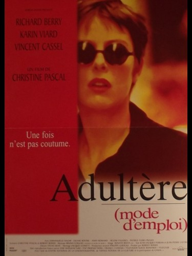 Affiche du film ADULTERE MODE D'EMPLOI - ADULTERY: A USER'S GUIDE