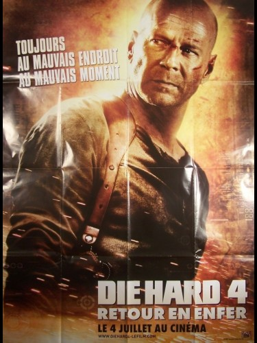 DIE HARD 4-RETOUR EN ENFER- - LIVE FREE OR DIE HARD
