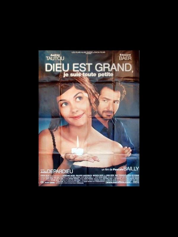Affiche du film DIEU EST GRAND,JE SUIS TOUTE PETITE