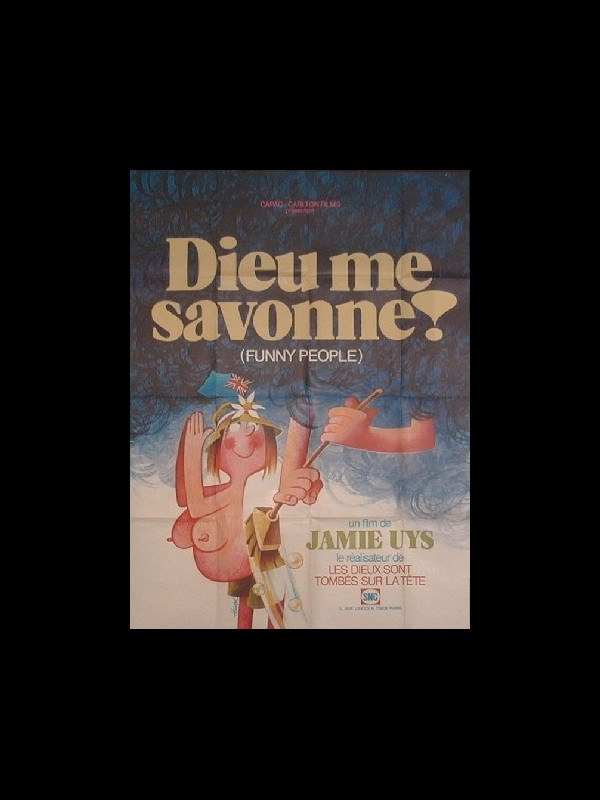 Affiche du film DIEU ME SAVONNE - FUNNY PEOPLE