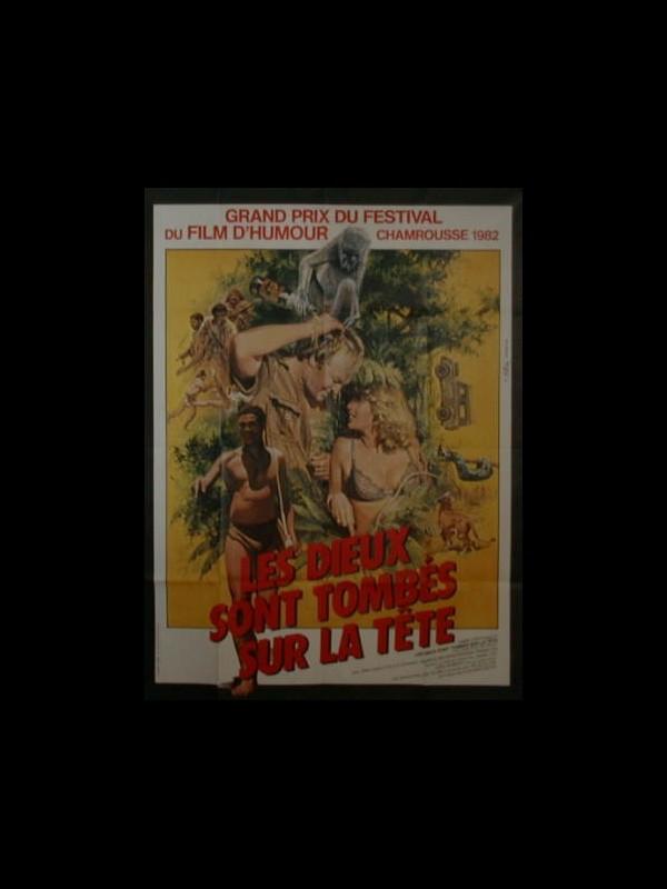 Affiche du film DIEUX SONT TOMBES SUR LA TETE (LES) - THE GODS MUST BE CRAZY