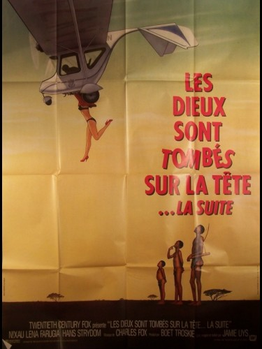 Affiche du film DIEUX SONT TOMBES SUR LA TETE , LA SUITE (LES)