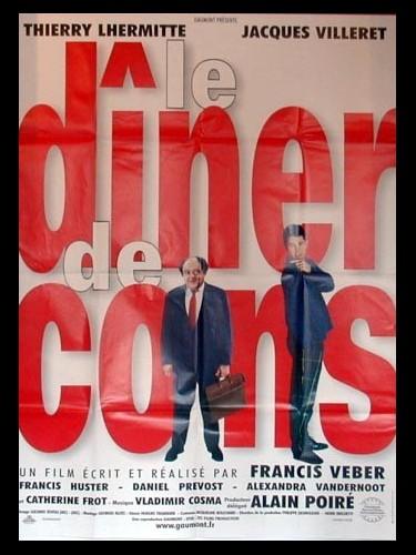 Affiche du film DINER DE CONS (LE)