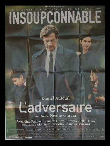 Affiche du film ADVERSAIRE (L')