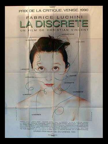 Affiche du film DISCRETE (LA)