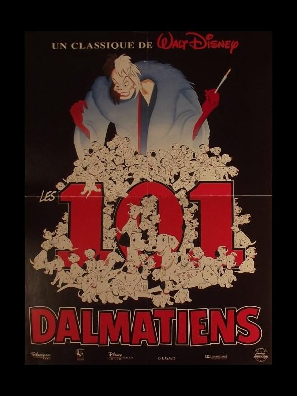 Affiche du film 101 DALMATIENS (LES) D.A. - ONE HUNDRED AND ONE DALMATIANS