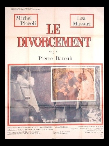Affiche du film DIVORCEMENT (LE)