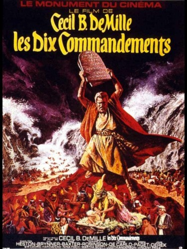 Affiche du film DIX COMMANDEMENTS (LES) - TEN COMMANDMENTS (THE)
