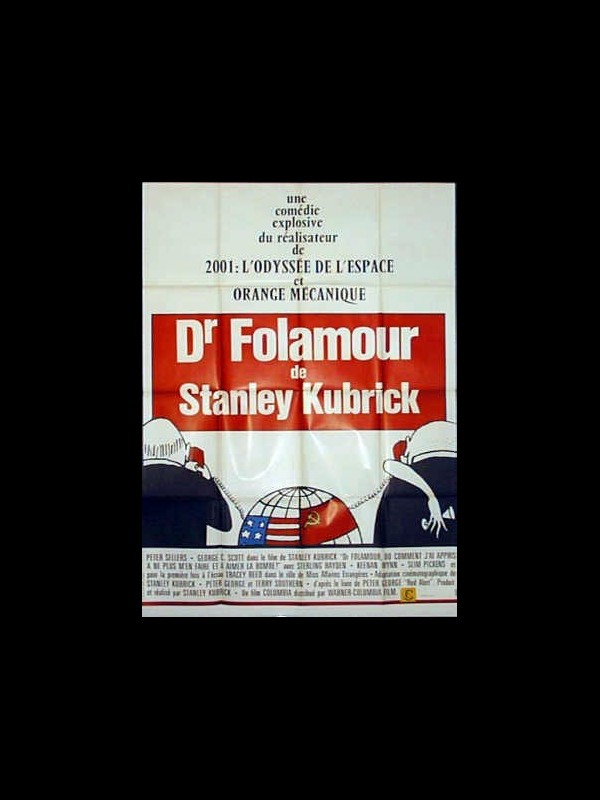 Affiche du film DOCTEUR FOLAMOUR