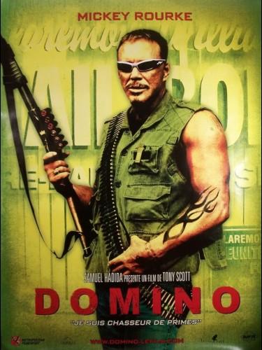 Affiche du film DOMIINO-MICKEY ROURKE-