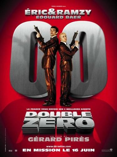 Affiche du film DOUBLE ZERO