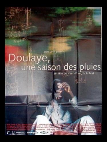 Affiche du film DOULAYE, UNE SAISON DE PLUIE