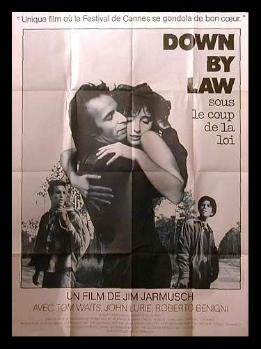 Affiche du film DOWN BY LAW
