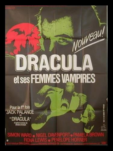 Affiche du film DRACULA ET SES FEMMES VAMPIRES - DRACULA