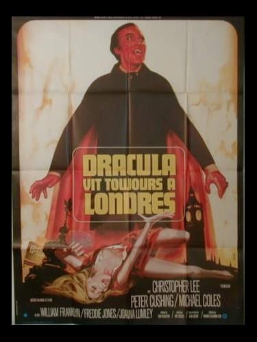 Affiche du film DRACULA VIT TOUJOURS A LONDRES - THE SATANIC RITES OF DRACULA