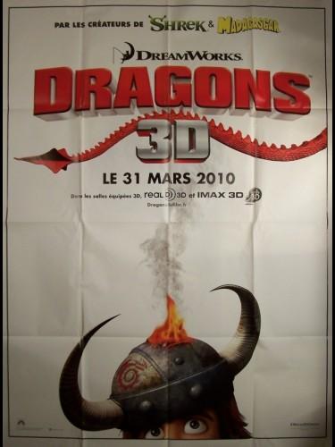 Affiche du film DRAGONS -AFFICHE TEASER-