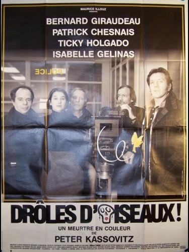Affiche du film DRÔLE D'OISEAUX