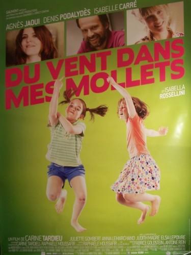 Affiche du film DU VENT DANS MES MOLLETS (AFFICHE ROULÉE)