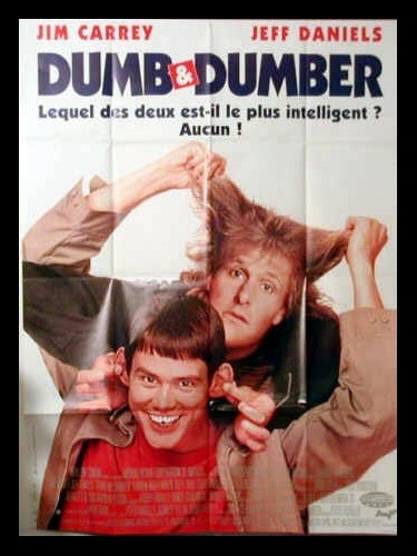 Affiche du film DUMB AND DUMBER