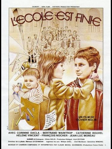 Affiche du film ECOLE EST FINIE (L')