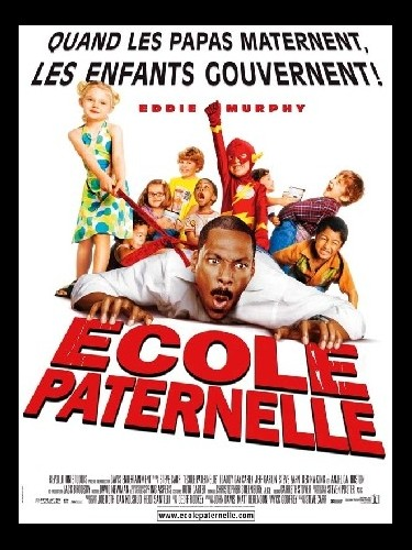 Affiche du film ECOLE PATERNELLE - DADDY DAY CAMP
