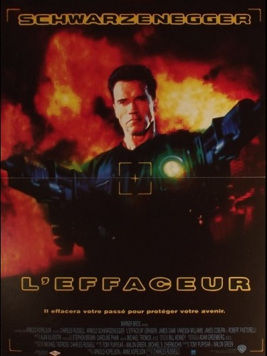 Affiche du film EFFACEUR (L') - ERASER