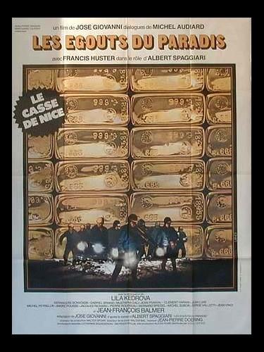 Affiche du film EGOUTS DU PARADIS (LES)