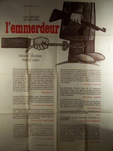 Affiche du film EMMERDEUR (L') (PREVENTIVE)