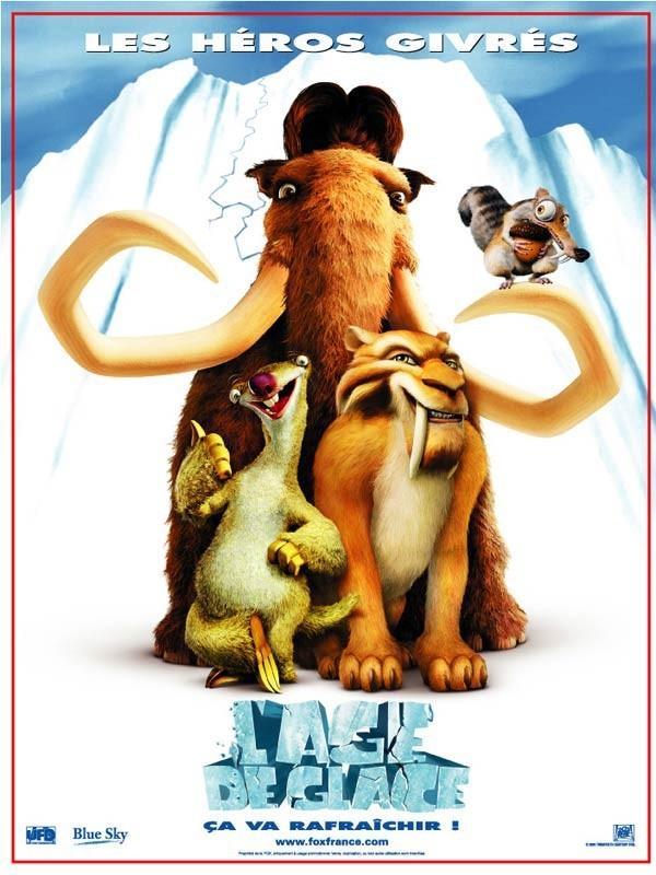 Affiche du film AGE DE GLACE (L') - ICE AGE