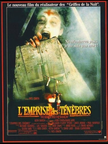 Affiche du film EMPRISE DES TENEBRES (L') - THE SERPENT AND THE RAINBOW