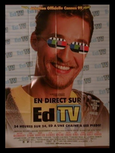 Affiche du film EN DIRECT SUR ED TV - EDTV