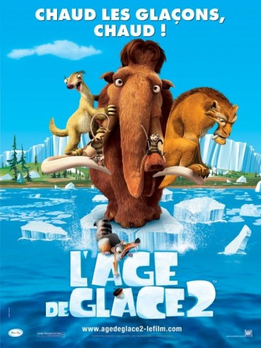 Affiche du film AGE DE GLACE (L') 2 - ICE AGE 2 : THE MELTDOWN