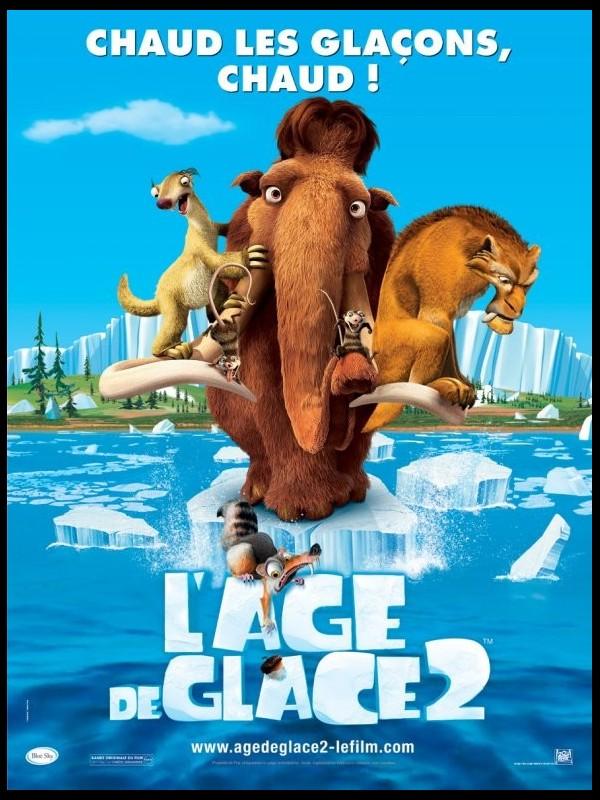 Affiche du film AGE DE GLACE (L') 2 - ICE AGE 2 : THE MELTDOWN