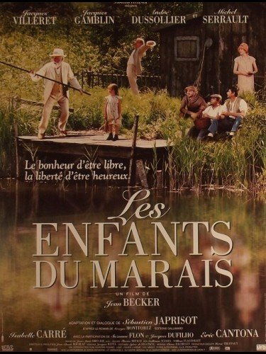 Affiche du film ENFANTS DU MARAIS (LES) - CHILDREN OF THE MARSHLANDS